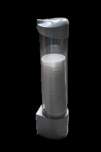Grey glass holder